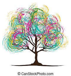 illustration, arbre