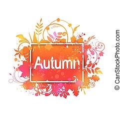 Autumn Grunge Banner