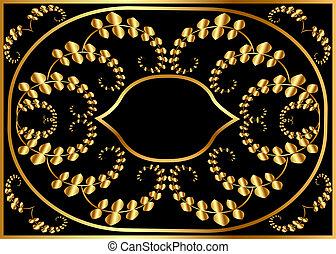illustration background pattern frame