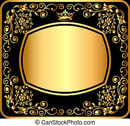 background pattern gold - illustration background pattern...