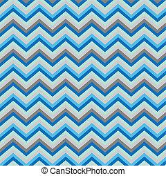 Pattern Retro Zig Zag Chevron