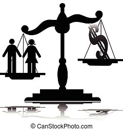 illustration, balances