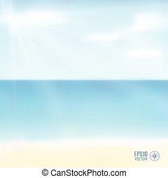 Illustration beautiful summer background