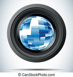 Illustration camera photo