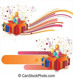 illustration-celebration, vettore, ele