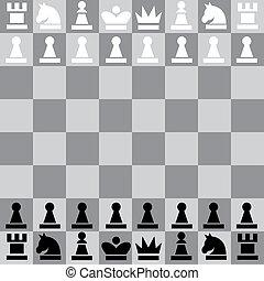 illustration chess