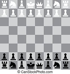 illustration chess