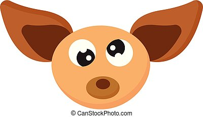illustration., chihuahuas, イメージを彩色しなさい, -, ベクトル, chihuahua, ∥あるいは∥