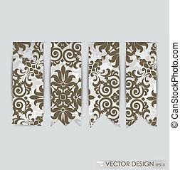 illustration., cobrança, promocional, vetorial, produtos, fita, design.
