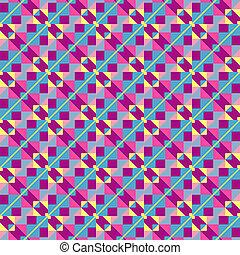 illustration., colorito, astratto, fondo., vettore, geometrico