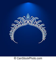 illustration crown diadem tiara 3 .