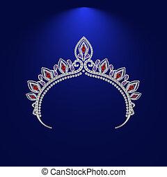 illustration crown diadem tiara 3