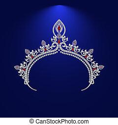 illustration crown diadem tiara 4