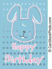 illustration cute rabbit