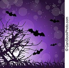 Dark Scary Background