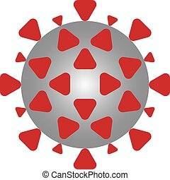COVID-19 - Illustration depicting the COVID-19 Coronavirus