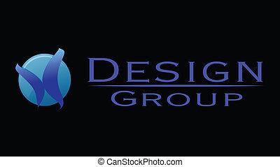 design studio group vector logo