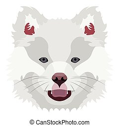 Illustration Dog Finnish Lapphund for the creative use in...