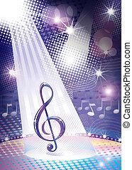 music symbol concept - illustration drawing of music symbol ...