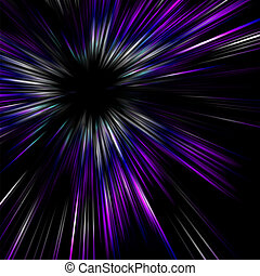 illustration., effect., lumière, vecteur, flamme, spécial