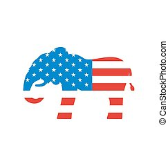 Elephant as a Symbol of American Republicans