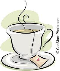 Best Teapot Illustrations, Royalty-Free Vector Graphics ... |Hot Tea Art