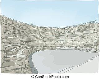 Jerash Ampitheater