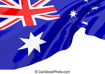 Illustration flags of Australia