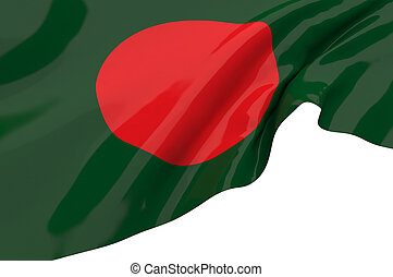 Illustration flags of Bangladesh