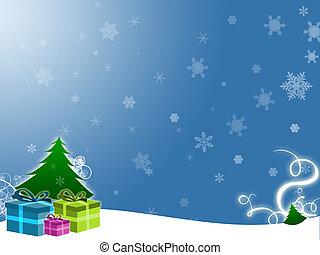 Illustration for christmas holidays and greetings