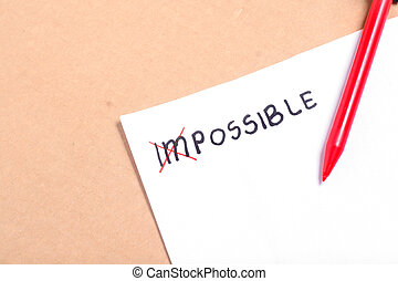 Impossible To Possible Thing