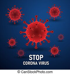 corona virus - illustration graphic vector of corona virus ,...