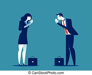 illustration., greeting., 給料, 手, パートナー, ベクトル, 敬意, ビジネスオフィス, etiquette., 概念, 挨拶, 丁寧, thailand., salutation.