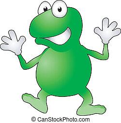 illustration, grenouille