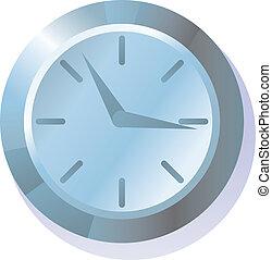 illustration, horloge