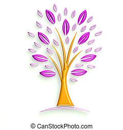 illustration, ico, glatt, affär, 3