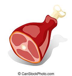 (illustration), kött