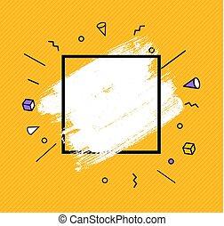 illustration, main, vecteur, parole, dessiné, bulles, icon.