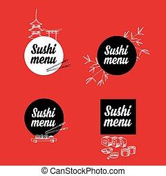 illustration., menu restaurant, design.vector, gabarit, café