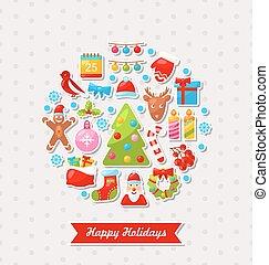 Merry Christmas Celebration Card
