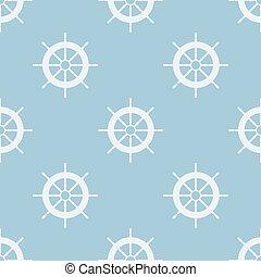 illustration., motívum, seamless, ship., vektor, colors., vezetés, lágy