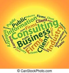 illustration., negócio, texto, concept., tag, vetorial, wordcloud., cloud.