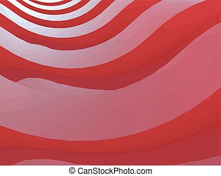 illustration of 3D abstract background