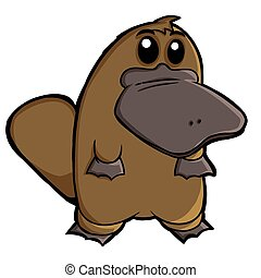 platypus illustrations and clip art 495 platypus royalty free rh canstockphoto com perry the platypus clipart Cartoon Platypus