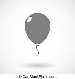 Illustration of a balloon