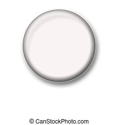 Illustration of a blank icon - Illustration of blank icon in...