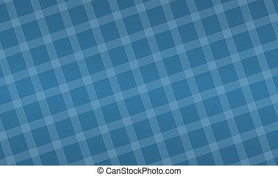 a blue placemat