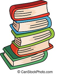 books - illustration of a books