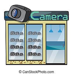 a camera shop