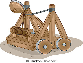 Catapult - Illustration of a Catapult